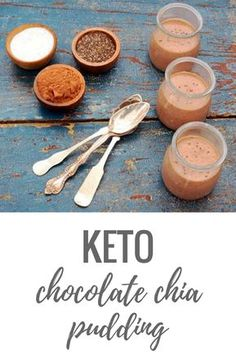 Quick and easy Keto Chocolate Chia Pudding recipe made with chia, cacao, coconut milk, sweetener, water, and salt. Dairy-free, vegan, and nut-free with only 6 ingredients.