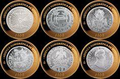México 100 pesos 2013 Herencia Numismática  Serie 3