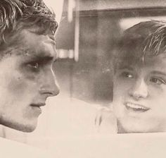 There is still a chance that the old Peeta is still in there trying to get out. <- This hurts.
