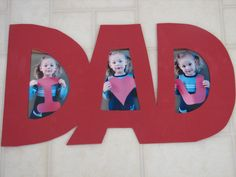 Adorable Father's Day Photo Ideas For Dad day gifts ideas from kids crafts Daycare Crafts, Toddler Crafts, Preschool Crafts, Baby Crafts To Make, Fathers Day Art, Fathers Day Photo, Preschool Fathers Day Gifts, Fathers Day Craft Toddler, Fathers Day Ideas