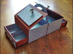 Drawers and an opening top