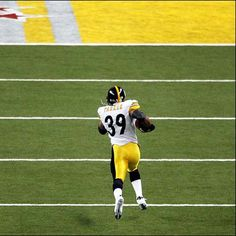 ": ""Fast"" Willie Parker #39, RB, 2004-2009. Record breaking 75 yrd TD run Super Bowl XL"