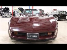 1980 Chevy Corvette Burgandy - YouTube #GRAutoGallery