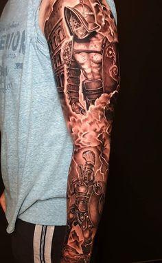 Raptor Tattoo Cartridges ■ Premium Equipment for Professional Artists. Hand Tattoos, Sleeve Tattoos, Tatoos, Sparta Tattoo, Jack Sparrow Tattoos, Gladiator Tattoo, Greek Mythology Tattoos, Armor Tattoo, Mens Shoulder Tattoo