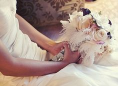 Lavender and Ash: Wedding Buzz-All The Pretty Feathers