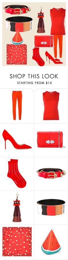 """""""cool fashion"""" by denisee-denisee ❤ liked on Polyvore featuring Boutique Moschino, P.A.R.O.S.H., Manolo Blahnik, Carven, Henrik Vibskov, Philosophy di Lorenzo Serafini, Anya Hindmarch, Moschino, Sunnylife and vintage"""