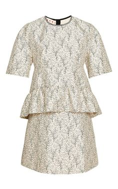 Pin for Later: Kate Middleton's Bringing Peplum Back — and We Actually Like It  Marni Gray Garden Mini Dress ($1,980)
