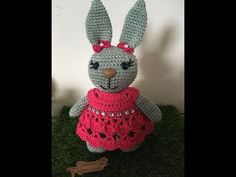 Tutorial Amigurumi, Barbie Dress, Crochet Home, Doll Patterns, Dream Catcher, Diy And Crafts, Projects To Try, Bunny, Dolls