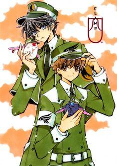CLAMP crossover between X, Tsubasa Reservoir Chronicle, and Xxxholic
