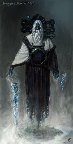 """Vaeringjar Wizard"" by Timur Mutsaev (TimurM) | #Fantasy"