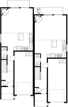 96 best duplex plan images in 2019 floor plans home plants house rh pinterest com