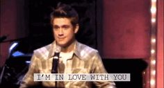 Aaron is in love with me.   (GIF)