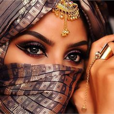 Image via We Heart It http://weheartit.com/entry/229895788 #beauty #chic #eyes #gorgeous #hijab #islam #makeup #muslim #niqab #scarf #stunning