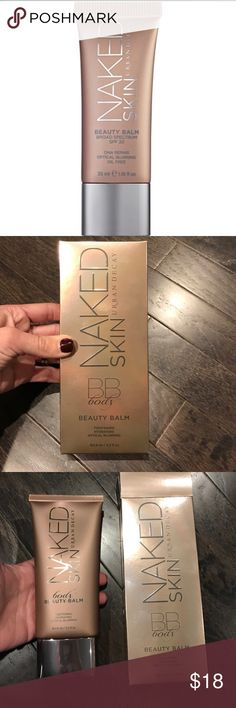 Urban Decay BB Body Naked Skin Beauty Balm Luminous finish for an added glow. Provides broad spectrum sun protection. Non-greasy, lightly moisturizing lotion is adaptable to dry or oily skin.  Skin firming and blurring of flaws Urban Decay Makeup Luminizer