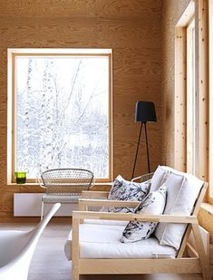 Photo: PS Arkitektur Winter in Scandinavia means snow... here some pictures of a lovely mountain cabin kalled Skärven , from PS Ark...