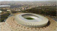 Estadio Minerao, Belo Horizonte: 28 Dias Copa Mundial de la FIFA Brasil 2014