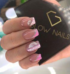 Search for nails at SHEIN. Gold Glitter Nails, Pink Nails, Short Nail Designs, Nail Art Designs, Glow Nails, Spring Nail Art, Accent Nails, Nail Arts, Manicure And Pedicure