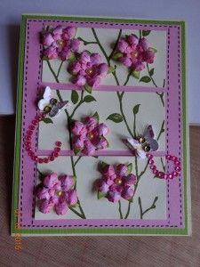 Card Created by Becky McAuley Using Diemond Dies Mini Must Haves Die Set.