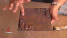 Pintura efeito cobre