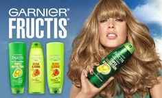 Garnier Fructis – FREE Sample of Triple Nutrition Shampoo and Conditioner!