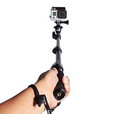 Telescopic Handheld Professional Monopod Camera Extender Pole with Tripod Mount for Gopro Hero 1 2 3 3+ 4 Camera and Cell Phone Wareway http://www.amazon.com/dp/B00IZV6ZW8/ref=cm_sw_r_pi_dp_XzFHub10R9WWE