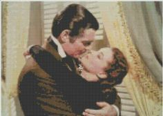 Iconic  Gone with the Wind Cross Stitch Pattern by CSDesignsbyLeah for $5.00