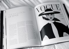 This magazine is in black and white and relies entirely on contrast. The layout for the text is a three-column page with a text above. the image or cover is mysterious or abnormal. The subject on the image overlays the logo of the magazine, which shows that the creators are confident in their brand. Enough so for people to recognize their showing logo.