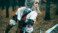2015 has been a good year for Witcher cosplay. Funny how the release of the best game in the series can do that. Ciri Witcher, Witcher Art, The Witcher 3, Fantasy Costumes, Almost Perfect, Fantasy Rpg, Manga, Best Cosplay, Best Games