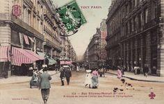 Partager Tweeter + 1 E-mail La rue Étienne Marcel fut ouverte en 1858 dans le cadre des grands réaménagements Haussmanniens. Son prolongement jusqu'au Boulevard ...