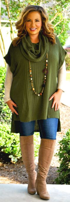 Perfectly Priscilla Boutique - Seek And Find Tunic - Olive, $42.00 (http://www.perfectlypriscilla.com/seek-and-find-tunic-olive/)