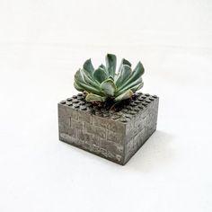 Lego Concrete Planter