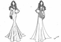 Felipe Panizzi My Style, Fashion, Dress, Moda, Fashion Styles, Fashion Illustrations