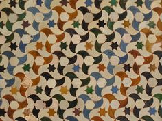 Alhambra tile - great colors.