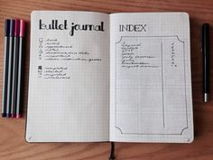 Bullet Journal - lastyearsblues: This is my bullet journal! I...