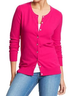 Old Navy | Women's Button-Front Stretch Cardis