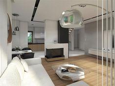 Projekt domu Reksio N+ 103,37 m2 - koszt budowy 180 tys. zł - EXTRADOM Oversized Mirror, Home Appliances, Architecture, Furniture, Home Decor, House Appliances, Arquitetura, Decoration Home, Room Decor
