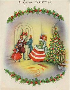 Coming Home For Christmas, Christmas Past, Very Merry Christmas, Christmas Birthday, All Things Christmas, Winter Christmas, Victorian Halloween, Victorian Christmas, Vintage Christmas Cards