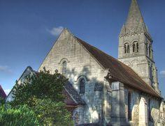 église de Saint-Vaast-de-Longmont, Verberie. Picardie