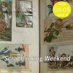 The first weekend in May is always Scrapbooking Weekend!