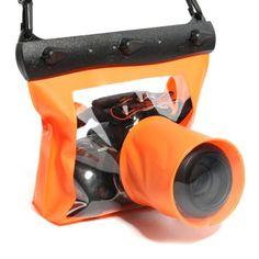 Koolertron 20M Underwater Waterproof Case DSLR SLR For Canon 6D 600D 650D Nikon D7100 D5200 D5100 D3200