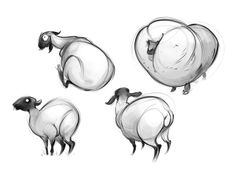Animal Blog: Sheep shoops by Christine Bian