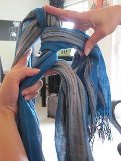 Krissa's Creative Hands: Braid a Scarf
