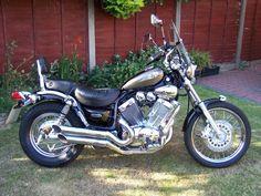 My old 02 plate Virago. Beautiful introduction to cruisers. Like all my past bikes, I wish I still had it. Virago 535, Yamaha Virago, Motorbikes, Over The Years, Past, Nostalgia, Racing, History, Vehicles