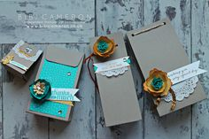 Tutorial: gift box punch board stampin up