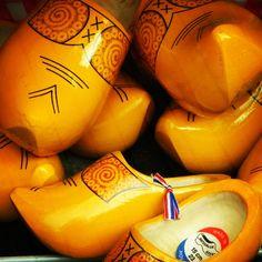 Zuecos holandeses,captados en gouda