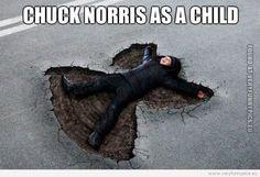 Chuck Noris as a child   Very