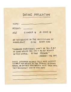 dating my ex noink