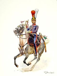 Tromba del 1 rgt. Carabinieri francese - Benigni