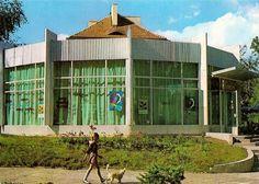 Pawilon gastronomiczny, Białystok - 1982 rok, stare zdjęcia
