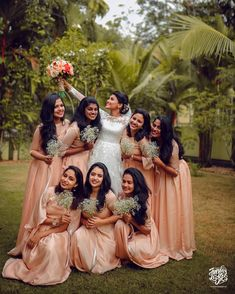 #tuesdaylightsweddingcompany #weddingshoot #doubleexposure #weddingdream #weddingdress #kerala #miraclesdohappen #miraclesfromheaven… Indian Wedding Bridesmaids, Indian Bridesmaid Dresses, Bridesmaid Saree, Bridesmaid Outfit, Bridal Dresses, Christian Bridal Saree, Christian Bride, Brides Maid Gown
